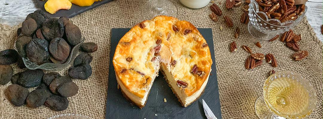 Cheesecake de cabra