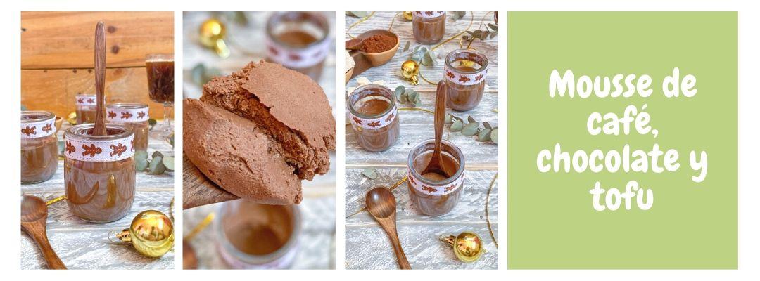 Mousse de café, chocolate y tofu