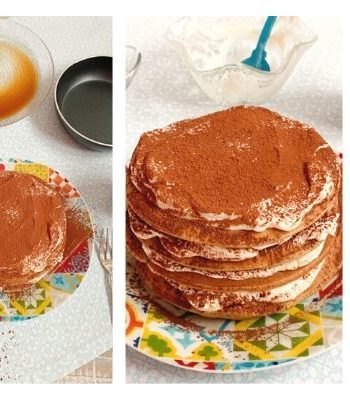 Tortitas Tiramisu