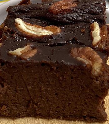 Portada brownie bajo en calorias