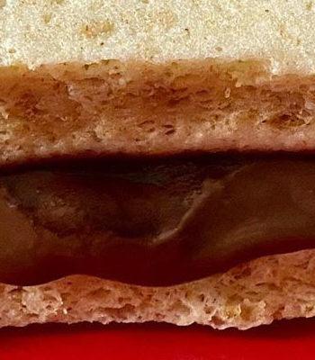 Portada pan proteico relleno de chocolate