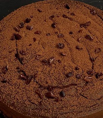 Portada no cheesecake de nutella
