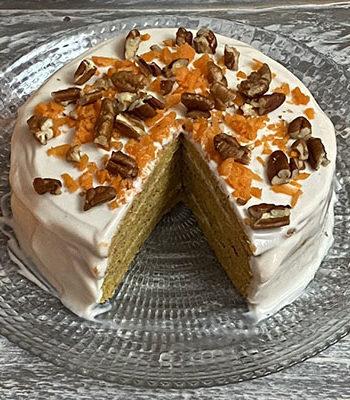 Portada Tortitas Carrot Cake