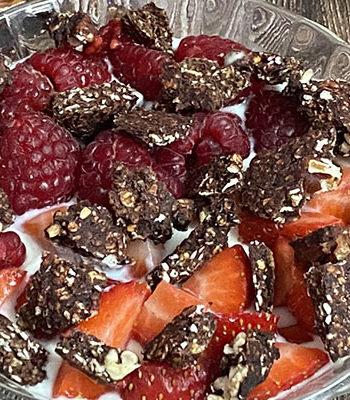 Portada Granola chocolate sin azúcar añadido