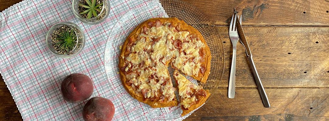 Portada Pizza con base de calabaza
