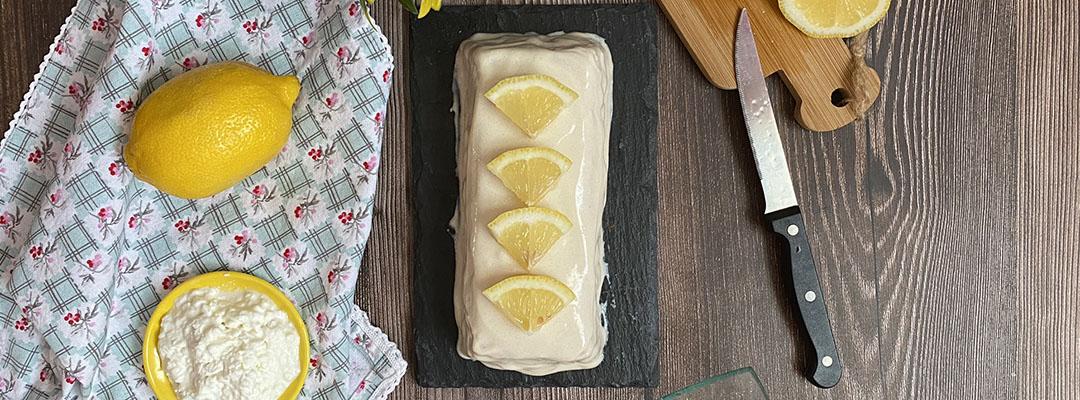 Portada Bizcocho de limon y queso cottage