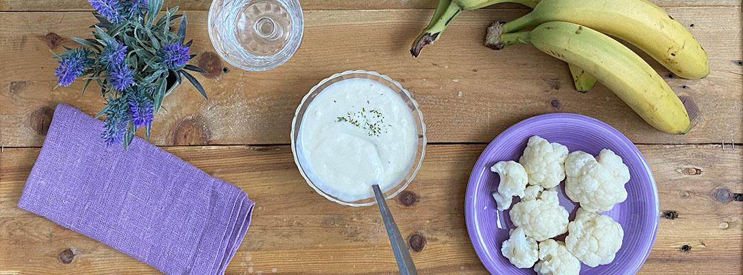 Portada Crema de coliflor y puerro