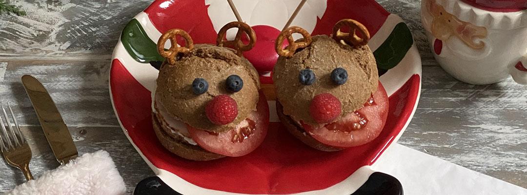 Portada Panes de reno y quesitos de Papa Noel