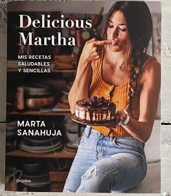 Portada Libro Delicious Martha