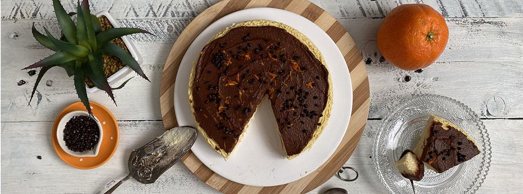 Portada Cheesecake de naranja al microondas
