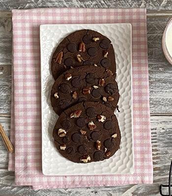 Portada Cookies de garbanzos doble chocolate