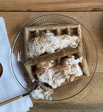 Portada Gofres banana bread