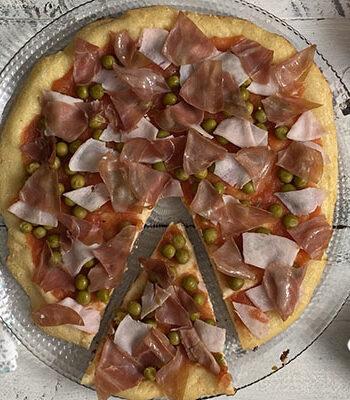 Portada Pizza con base keto de queso