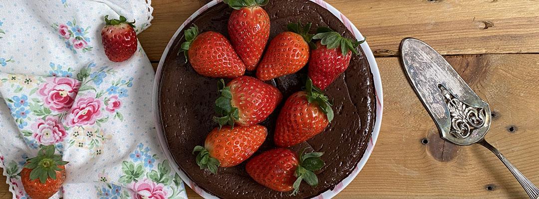 Portada Brownie cheesecake doble chocolate