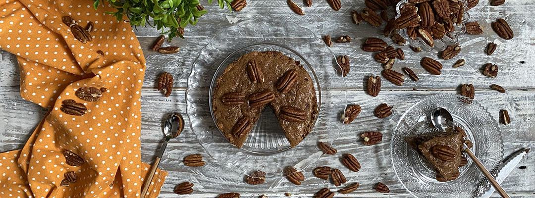 Portada Pecan Pie sin harina