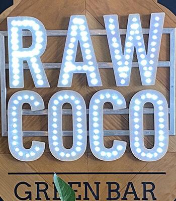 Portada Restaurante Raw Coco