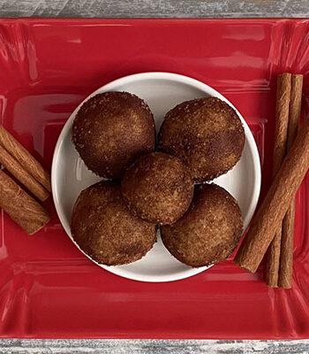 Portada Trufas de mazapan cinnamon roll